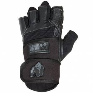 Bilde av Dallas Wrist Wrap Gloves, Black